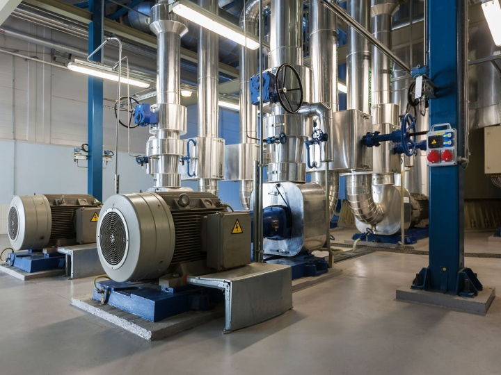 Solvent Recovery Power Loss Mitigation